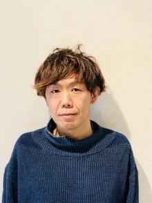 初投稿✨ハンモック美容師 角貝 雄二